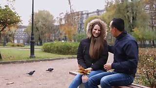 Autumn romance and first anal