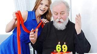 Blessed birthday and happy orgasm!