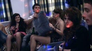 Hot nude soiree vid with badass chicks
