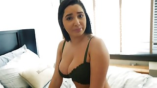 Step-sister gives her older brother a xxx advice