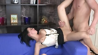 Dressing sexy for anal date